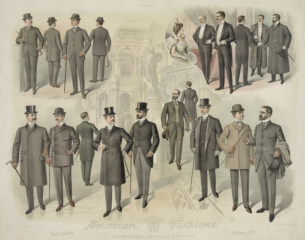 Male Fashion Patterns