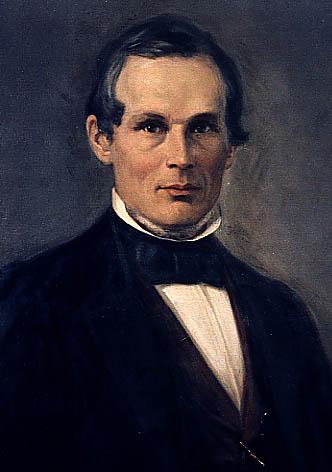 un quadro che lo raffigura viso ovale sguardo fiero capelli scuri occhi scuri ma era svedese