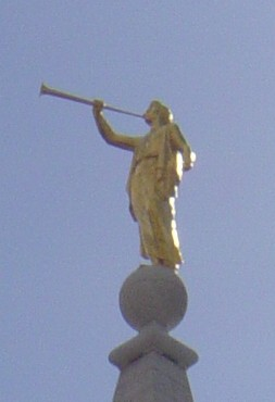 Angel Moroni SLCTemple