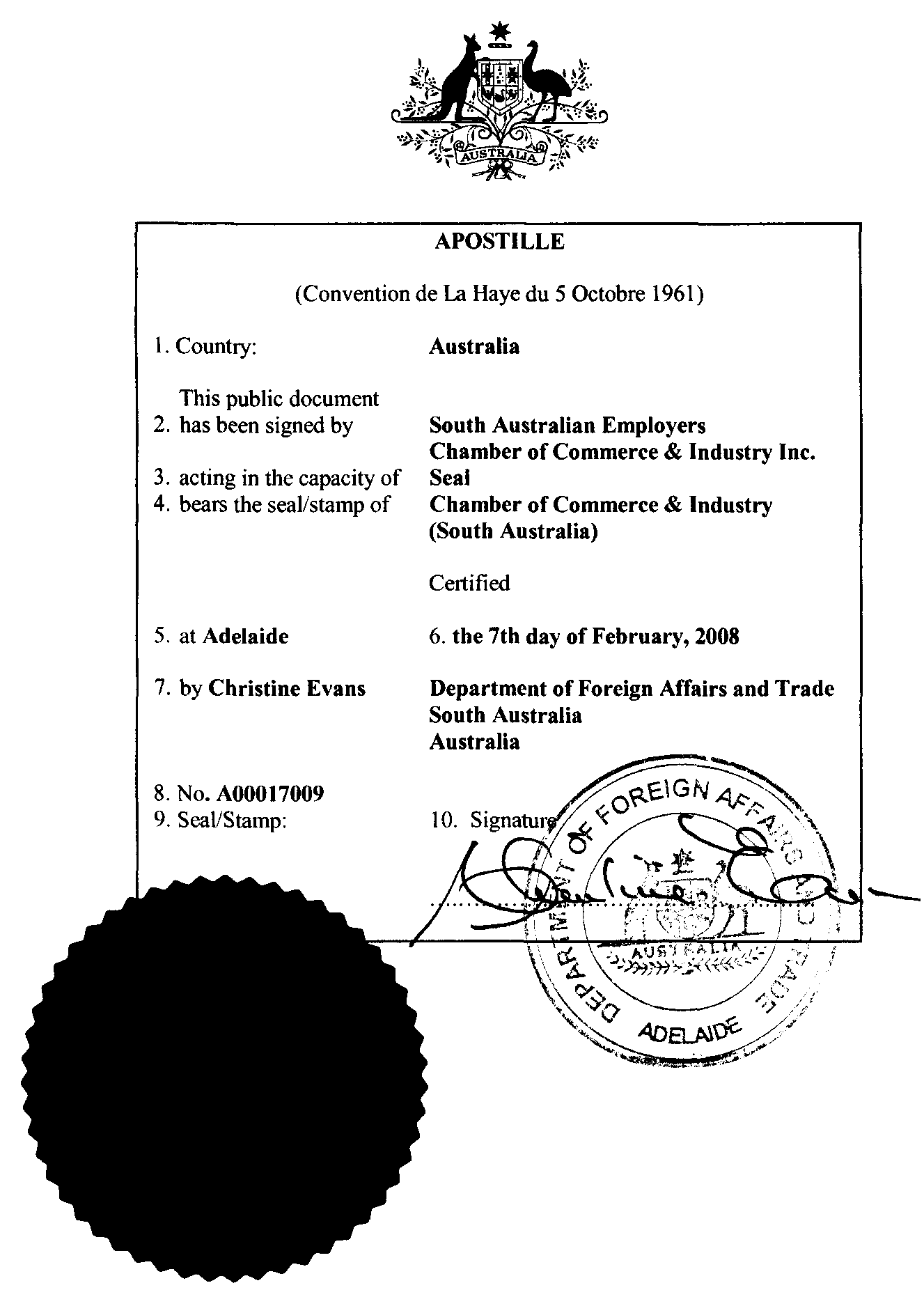 Certificate Of Translation Template