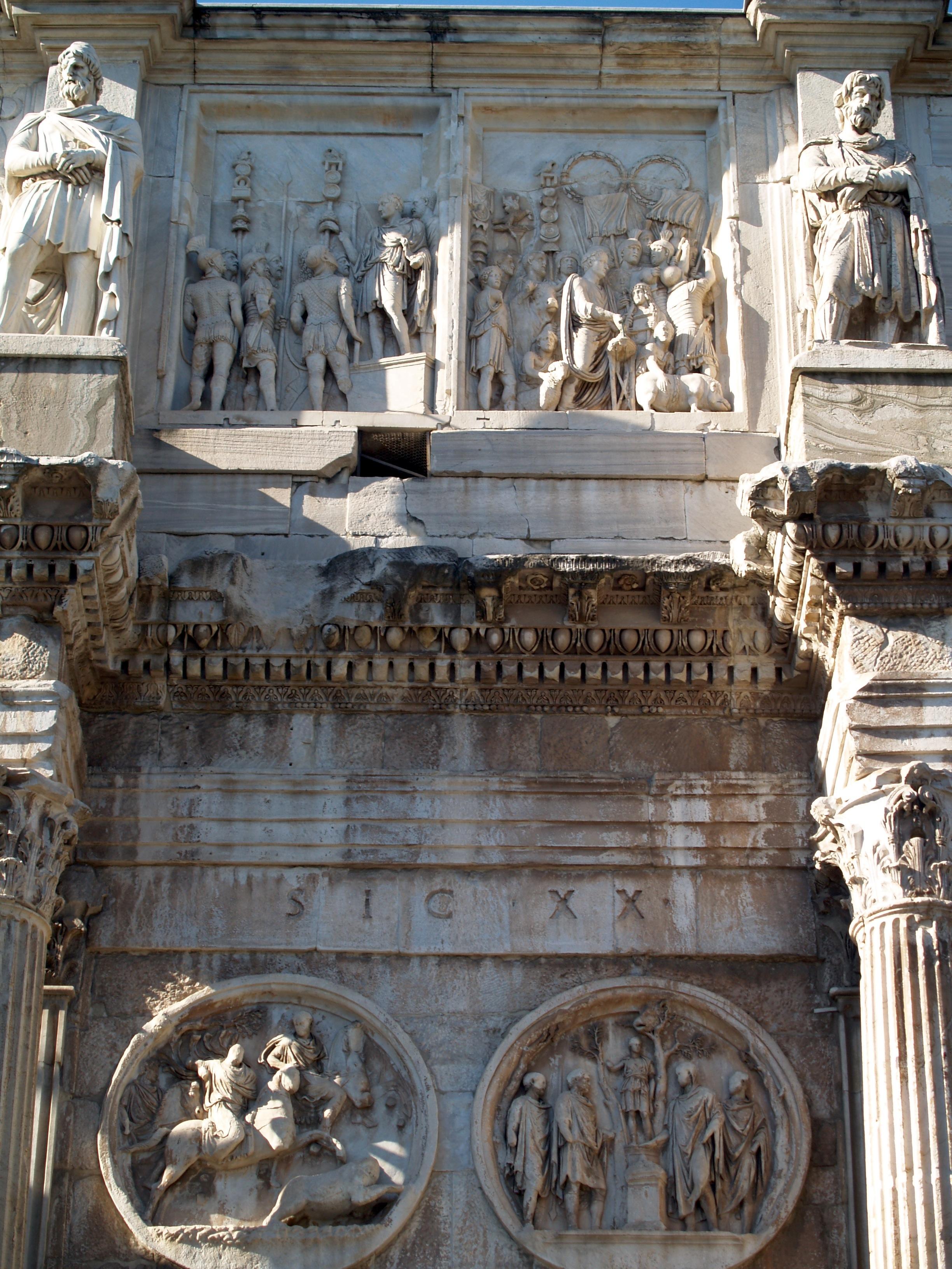 File:Arco de Constantino, relieves de Marco Aurelio..JPG - Wikimedia ...