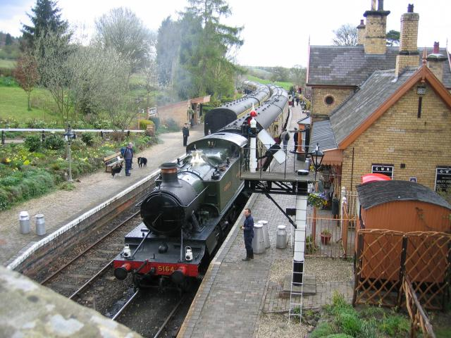 Arley station on the Severn Valley Railway Photo credit: Wikipedia