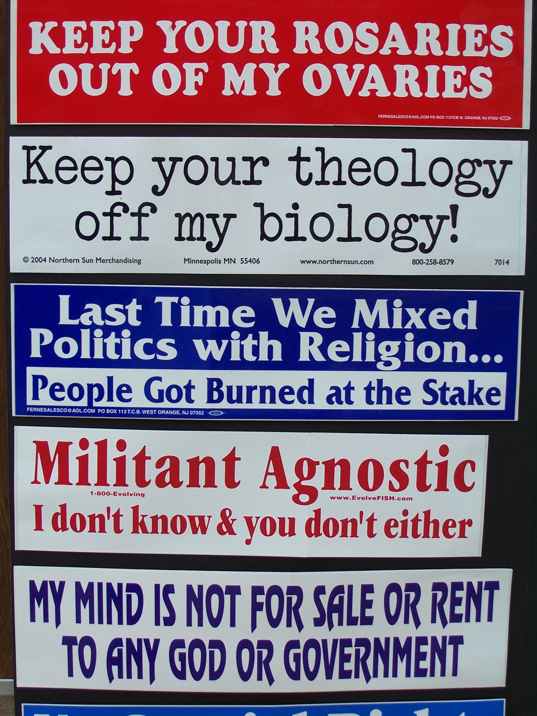 File:Atheist stickers jpg - Wikimedia Commons