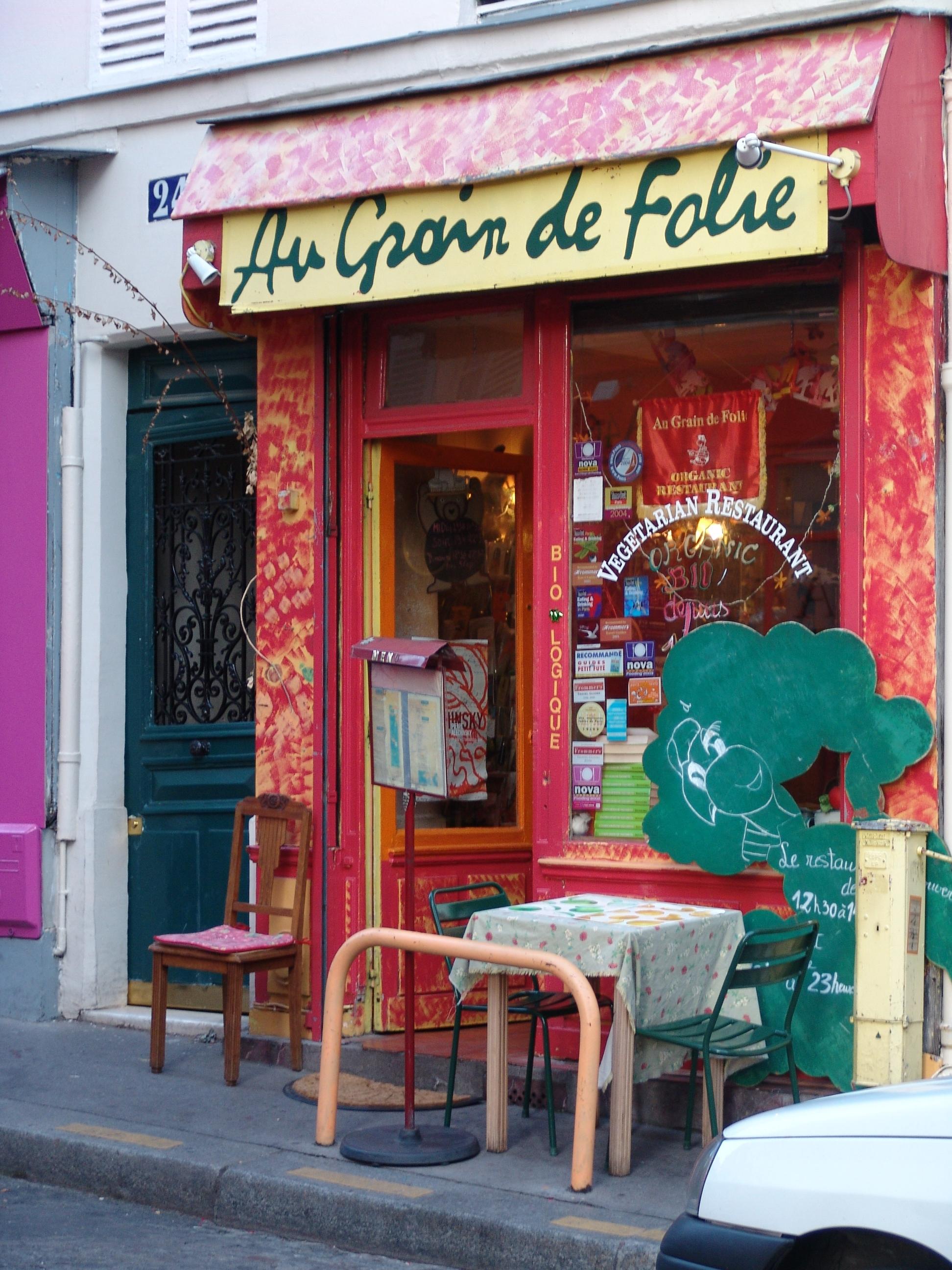 Restaurant La Folie Douce Carte