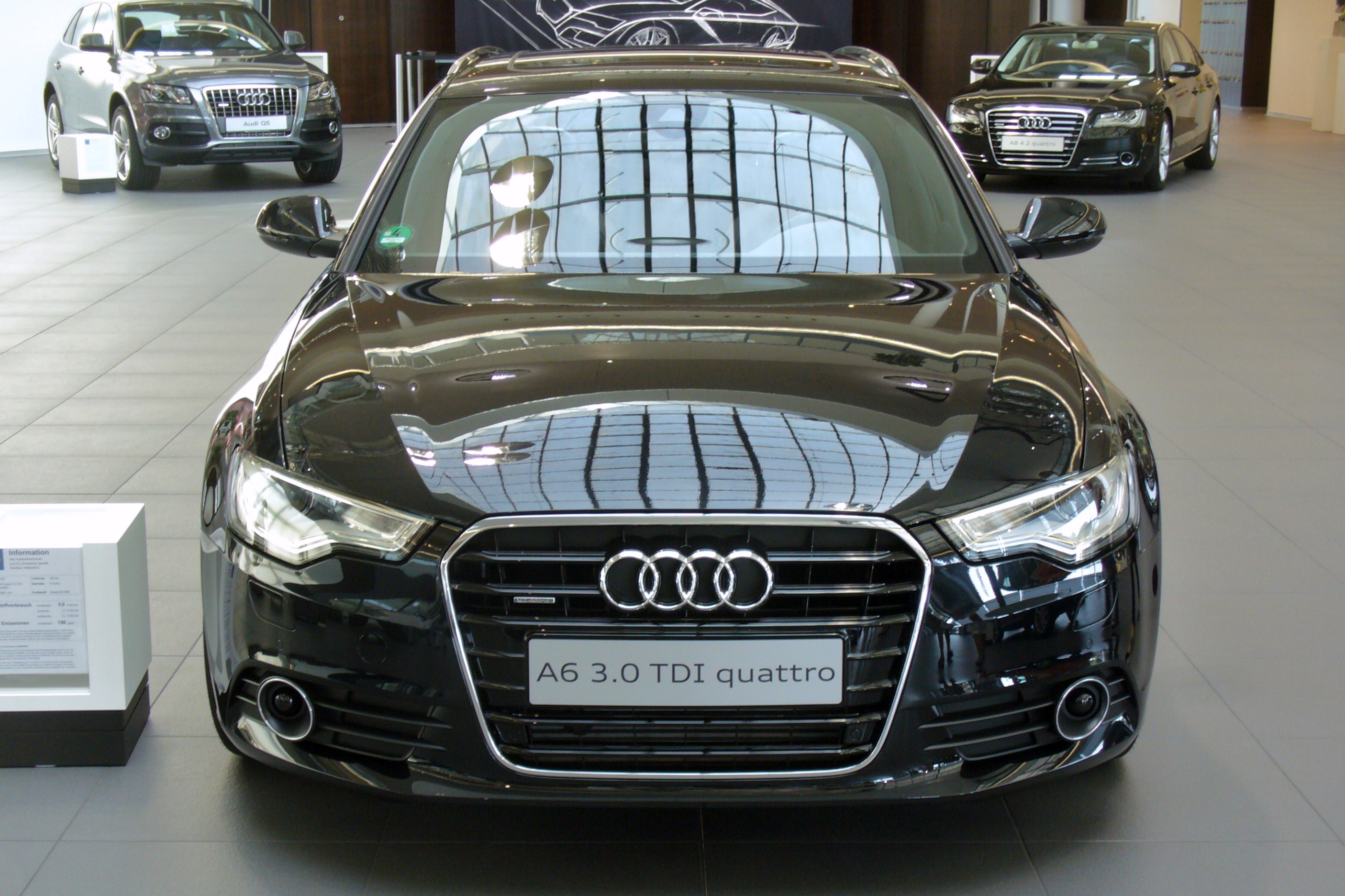 slika audi a6 avant 3 0 tdi quattro s tronic. Black Bedroom Furniture Sets. Home Design Ideas