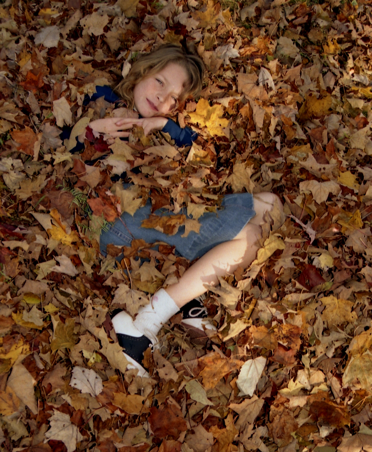 Jump in a Pile of Leaves #bucketlist