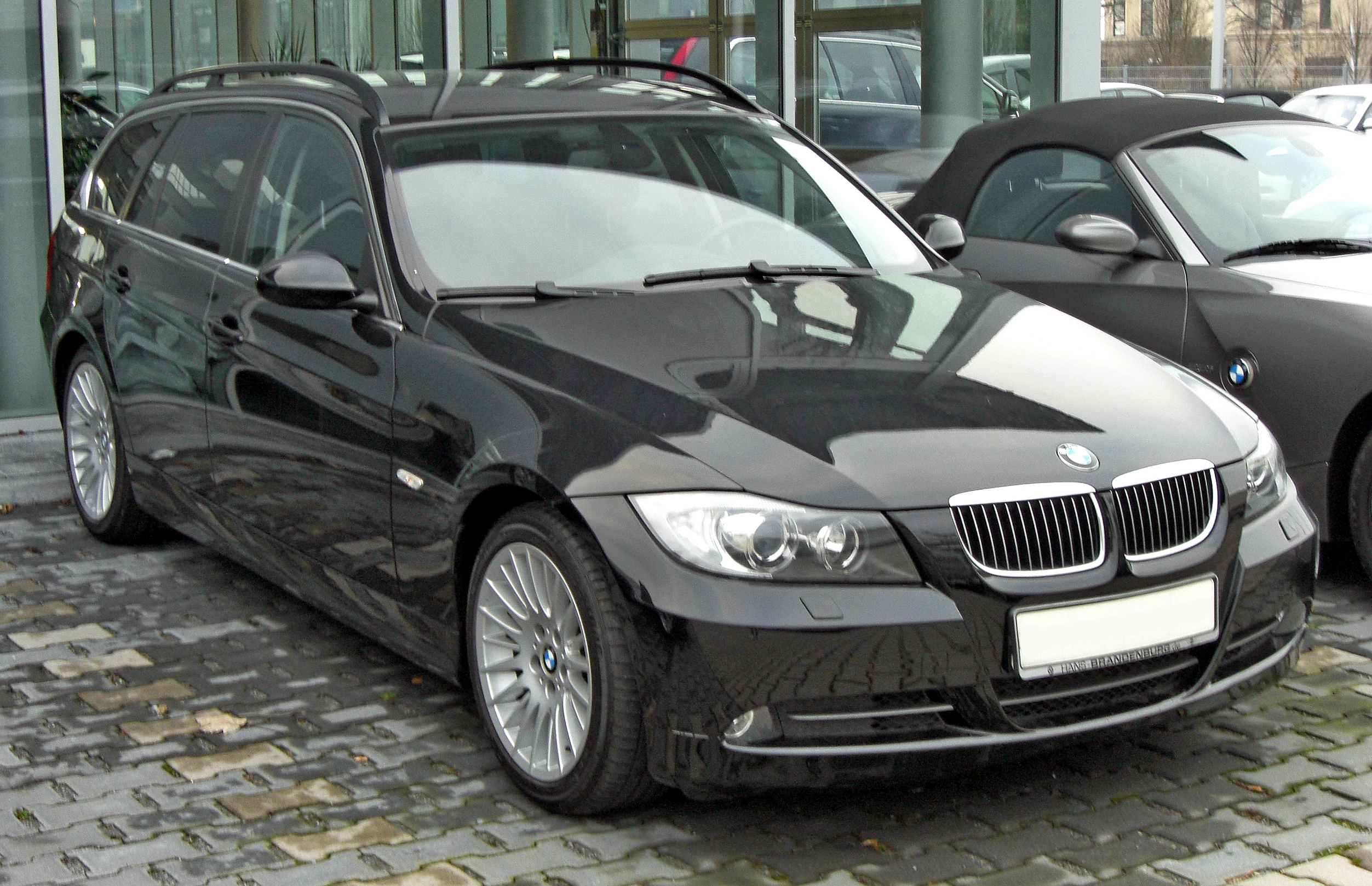 file bmw 3er touring 20090228 wikimedia commons. Black Bedroom Furniture Sets. Home Design Ideas