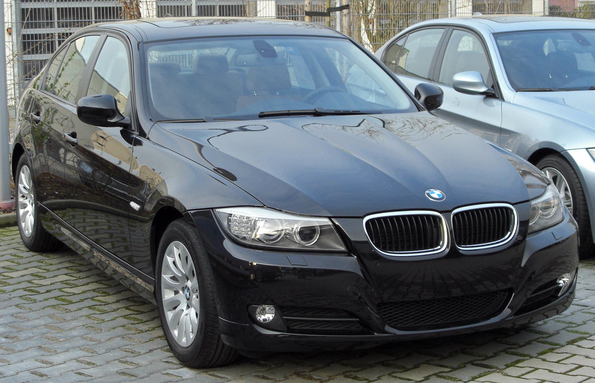 file bmw 3er v facelift front wikimedia commons. Black Bedroom Furniture Sets. Home Design Ideas