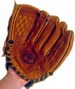 Inside of Baseball Glove