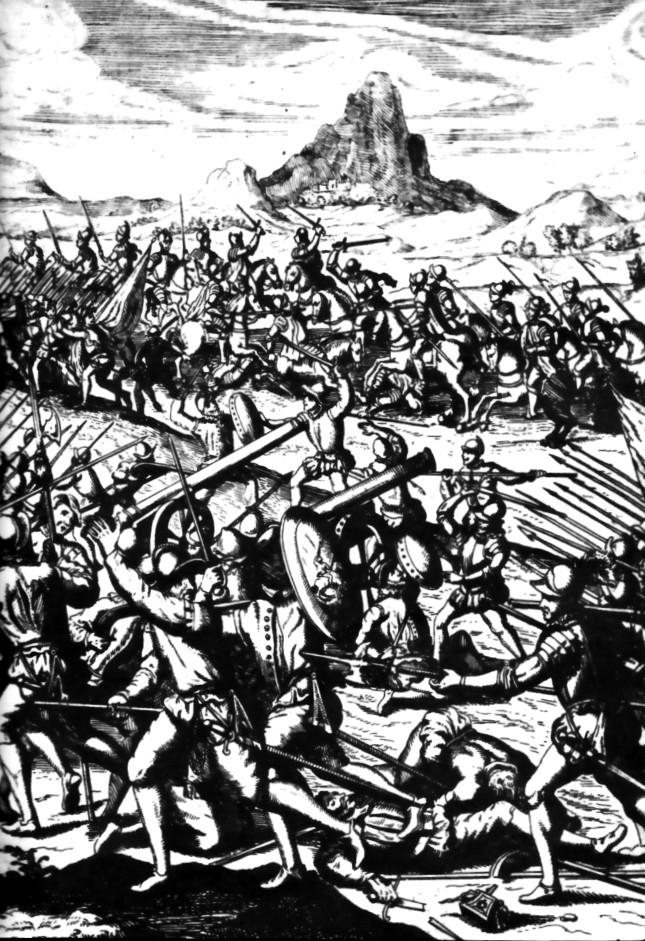 Depiction of Batalla de Chupas