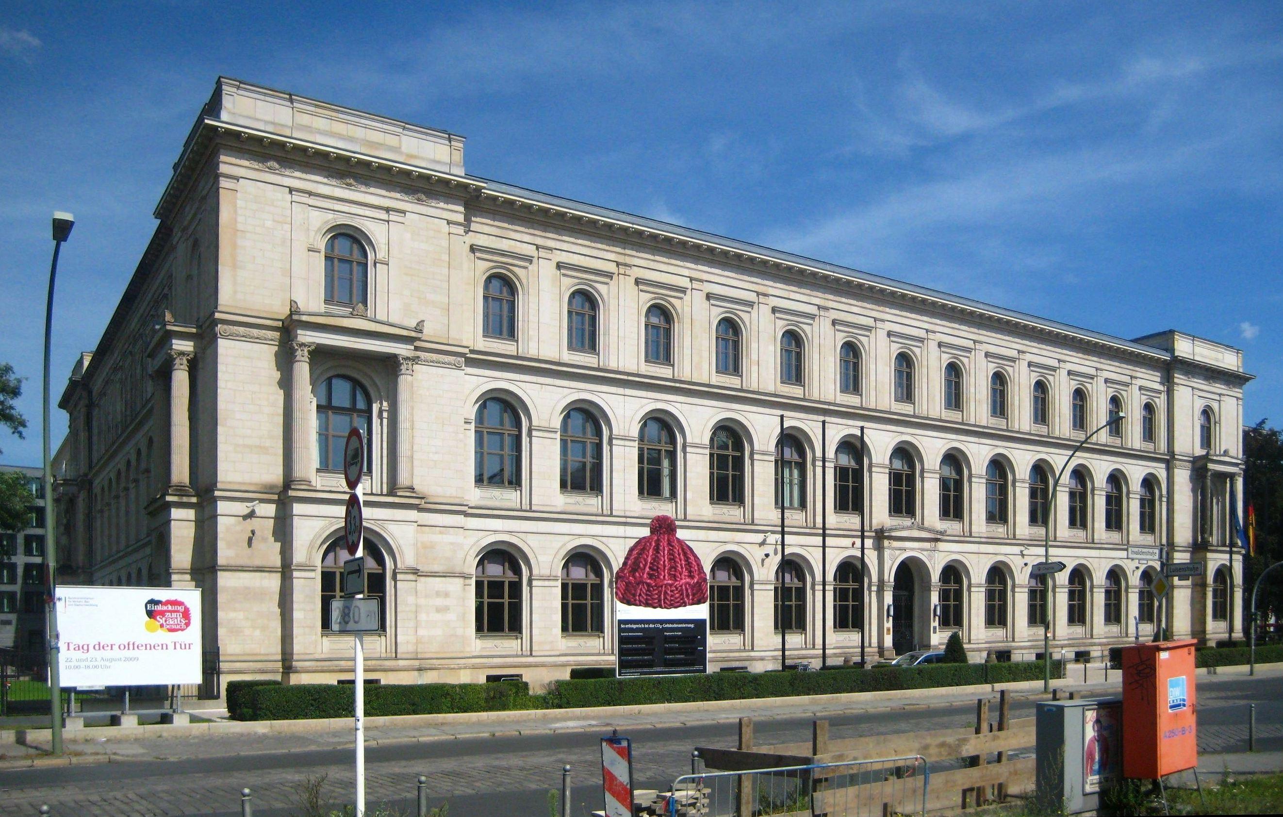 Architekten In Berlin file berlin mitte invalidenstraße 44 bundesministerium für verkehr bau und stadtentwicklung