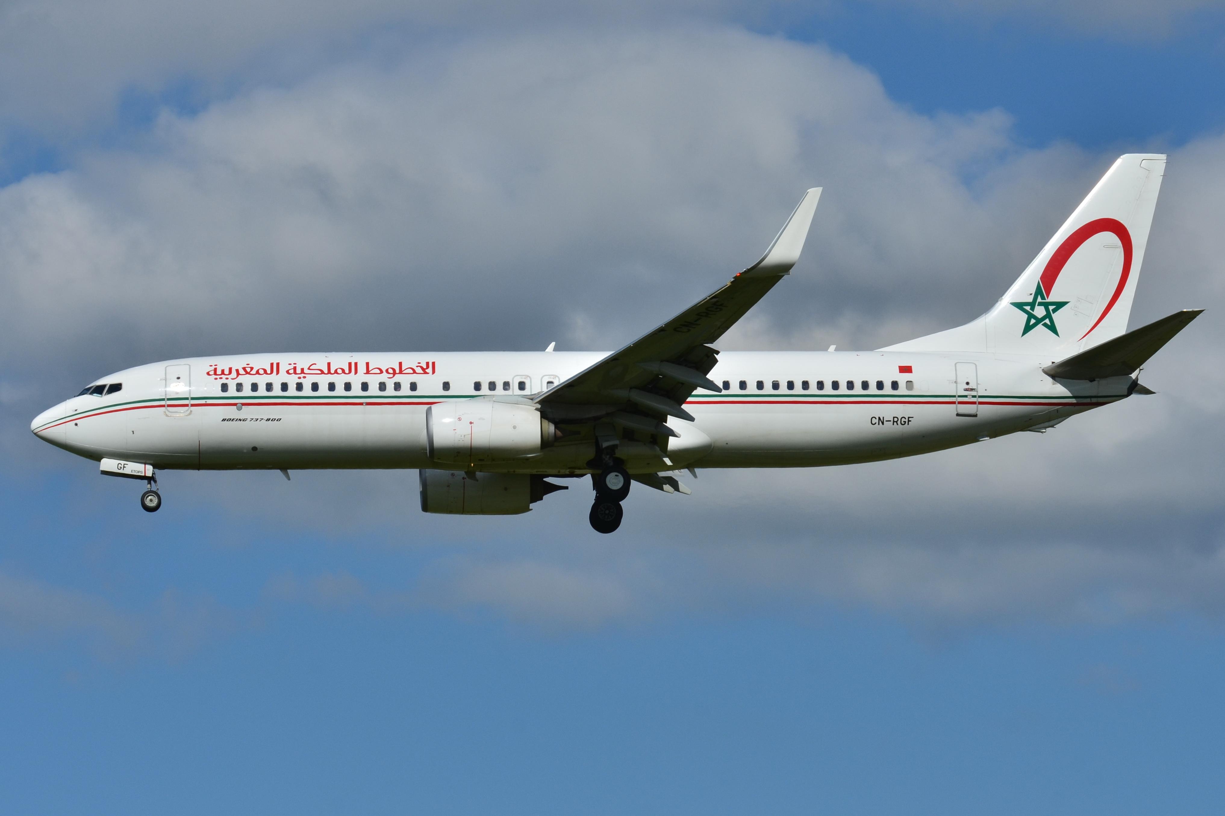 file boeing 737 800 royal air maroc ram cn rgf msn. Black Bedroom Furniture Sets. Home Design Ideas