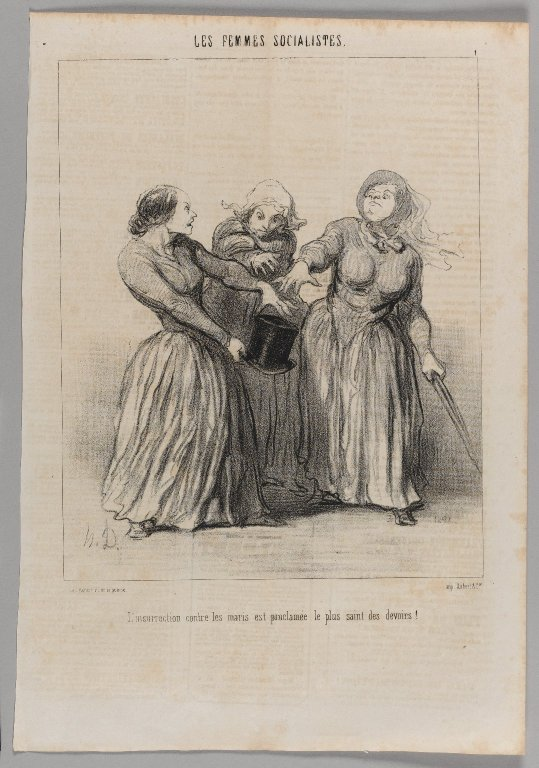 Brooklyn Museum - L'insurrection Contre les Maris Est Proclamée le Plus Saint des Devoir - Honoré Daumier.jpg
