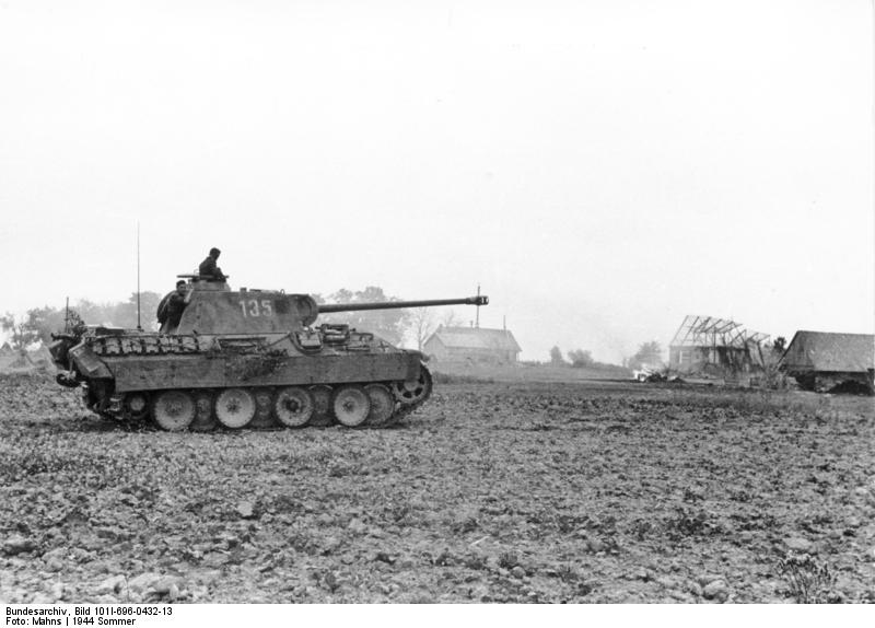 A Panther Tank in Poland