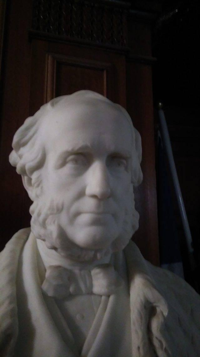 Bust of Duncan McLaren, Edinburgh City Chambers