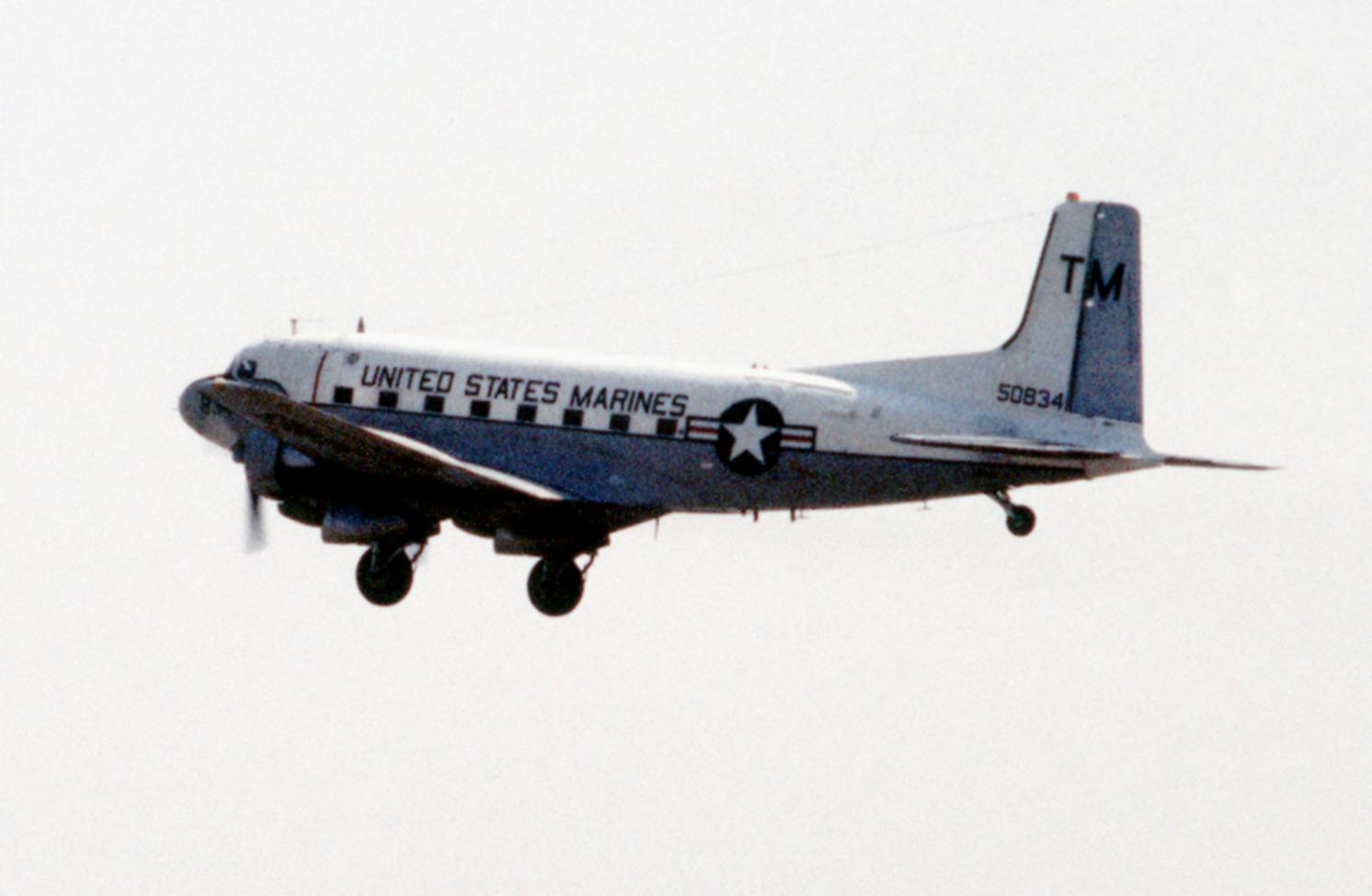 File:C-117D US Marine Corps final flight 1992.JPEG ...