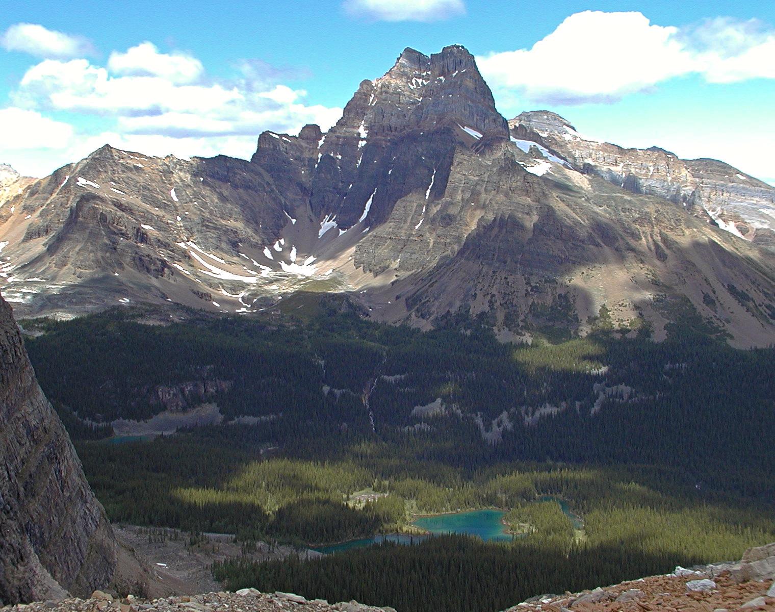 Cathedral Mountain (Yoho) - Wikipedia