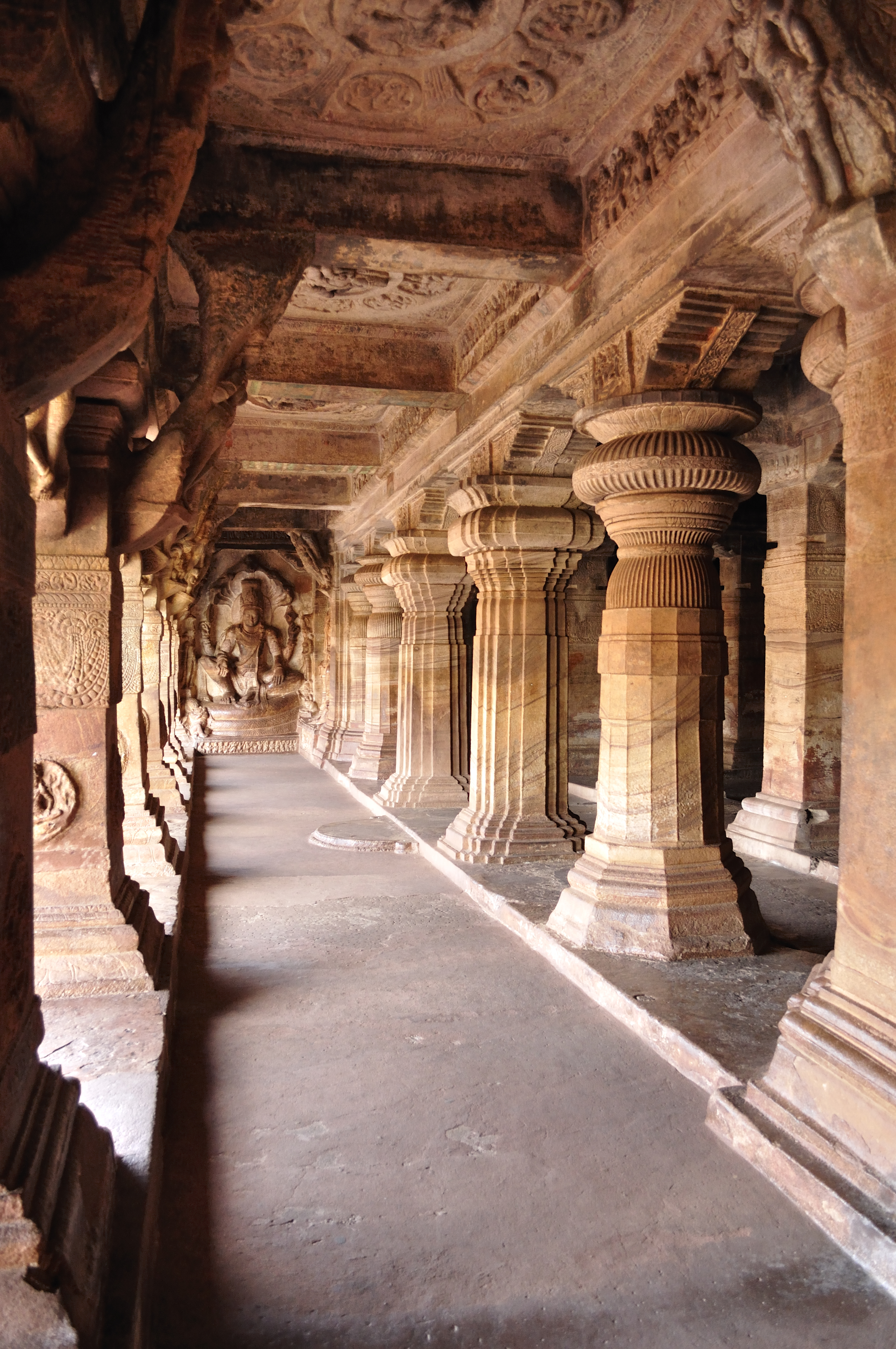 badami caves india Badami caves 1 badami caves, badami  caves along with the interiors and design of the caves the caves are visited by many people from india and abroad.