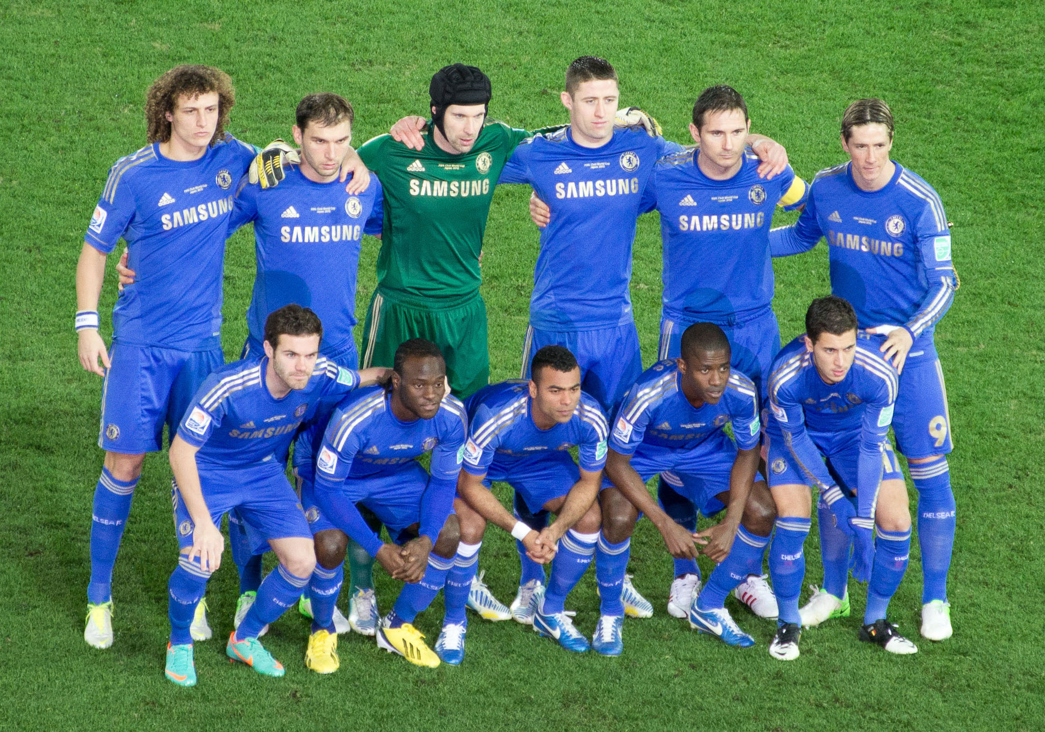 Description Chelsea FC 2012 Club World Cup Final Starting XI