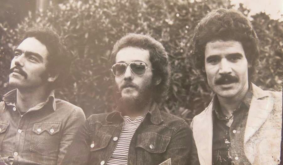 Componentes de Taburiente: Miguel Pérez, Manolo Pérez y Luis Morera