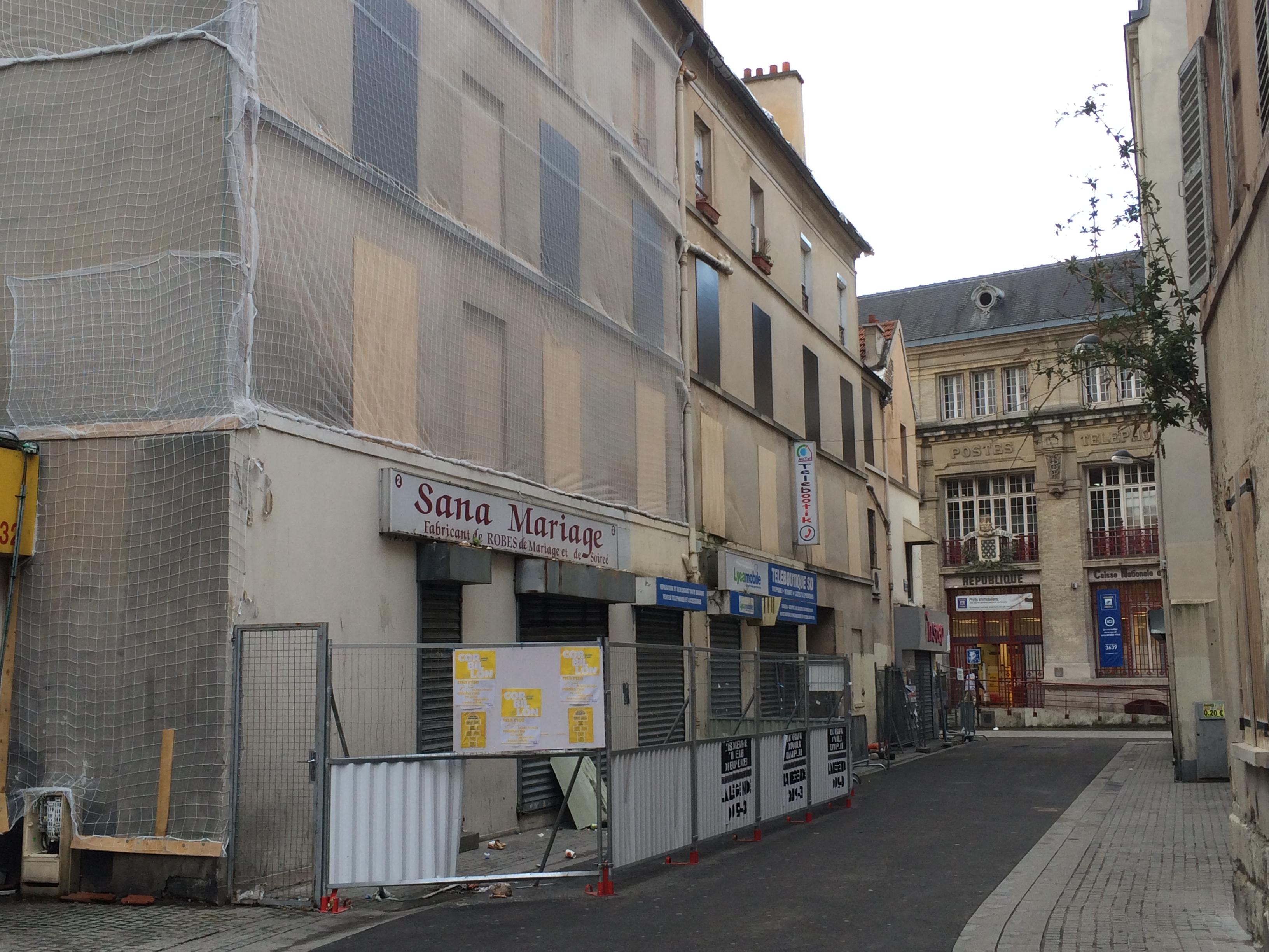File corbillon 48 r publique saint wikimedia commons - Bureau de poste saint denis ...
