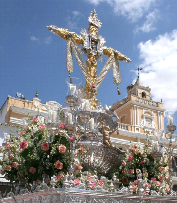 Depiction of Cruz de Mayo