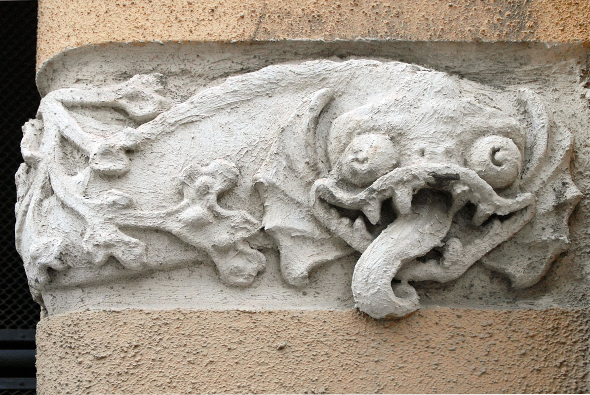File Decor Art Nouveau D Un Immeuble Du Quartier Katajanokka