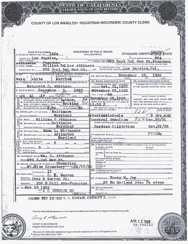 File:Death Certificate for William Walker Atkinson.png - Wikimedia ...
