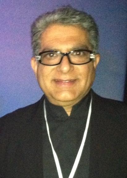 Poet Deepak Chopra