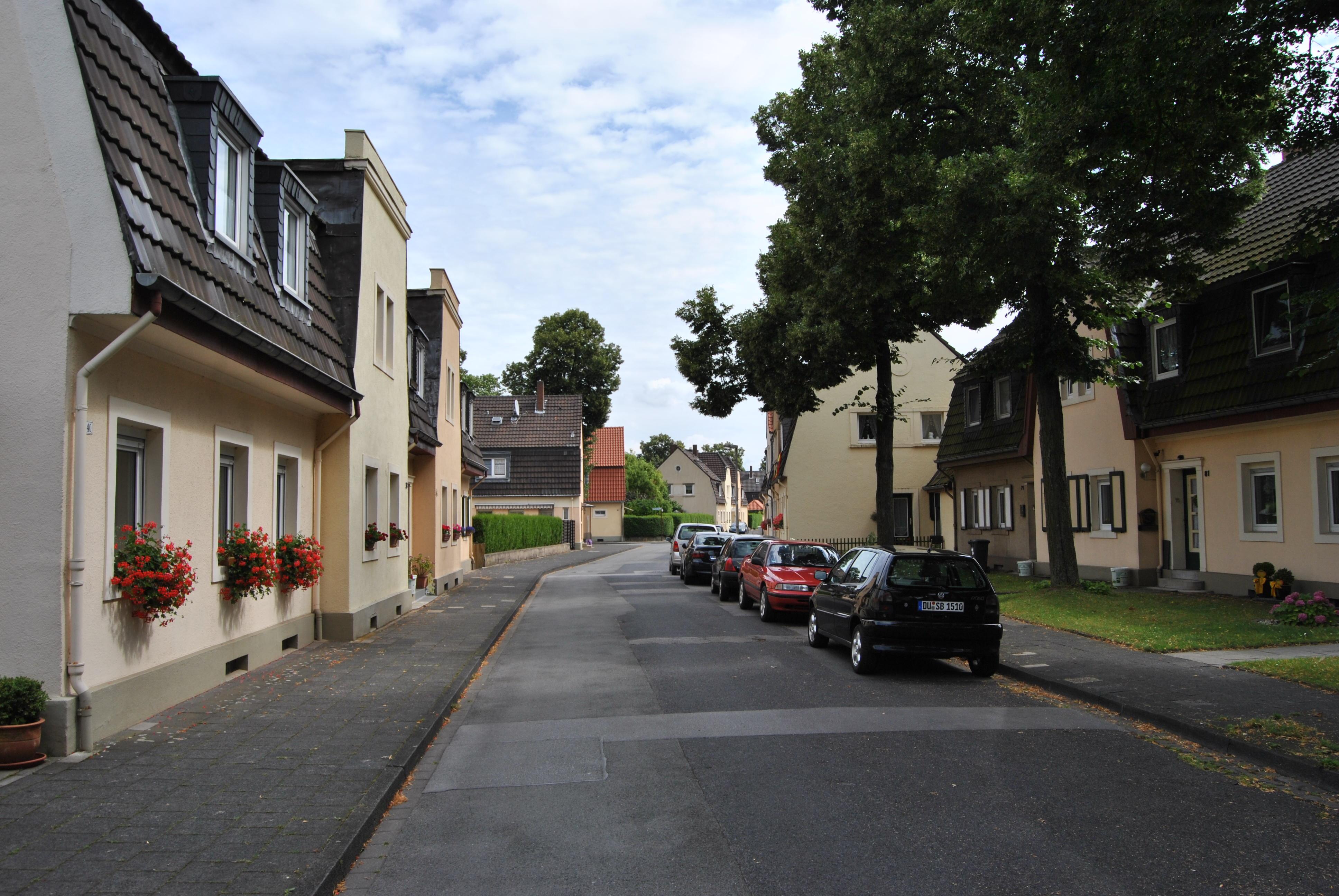 Eisenbahnsiedlung Duisburg