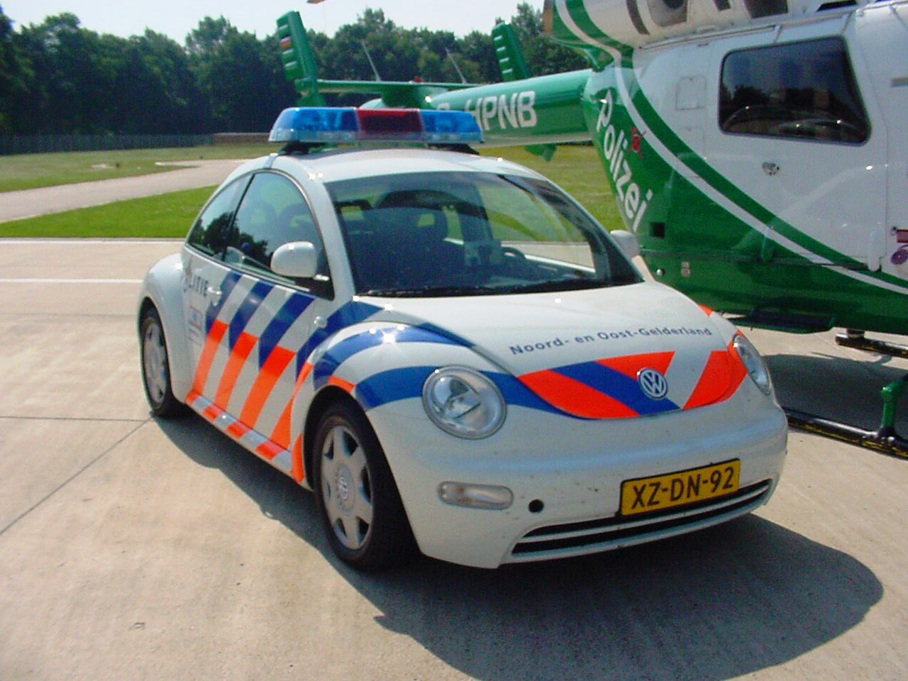 File Dutch Police Car With German Helicopter 10 Jpg