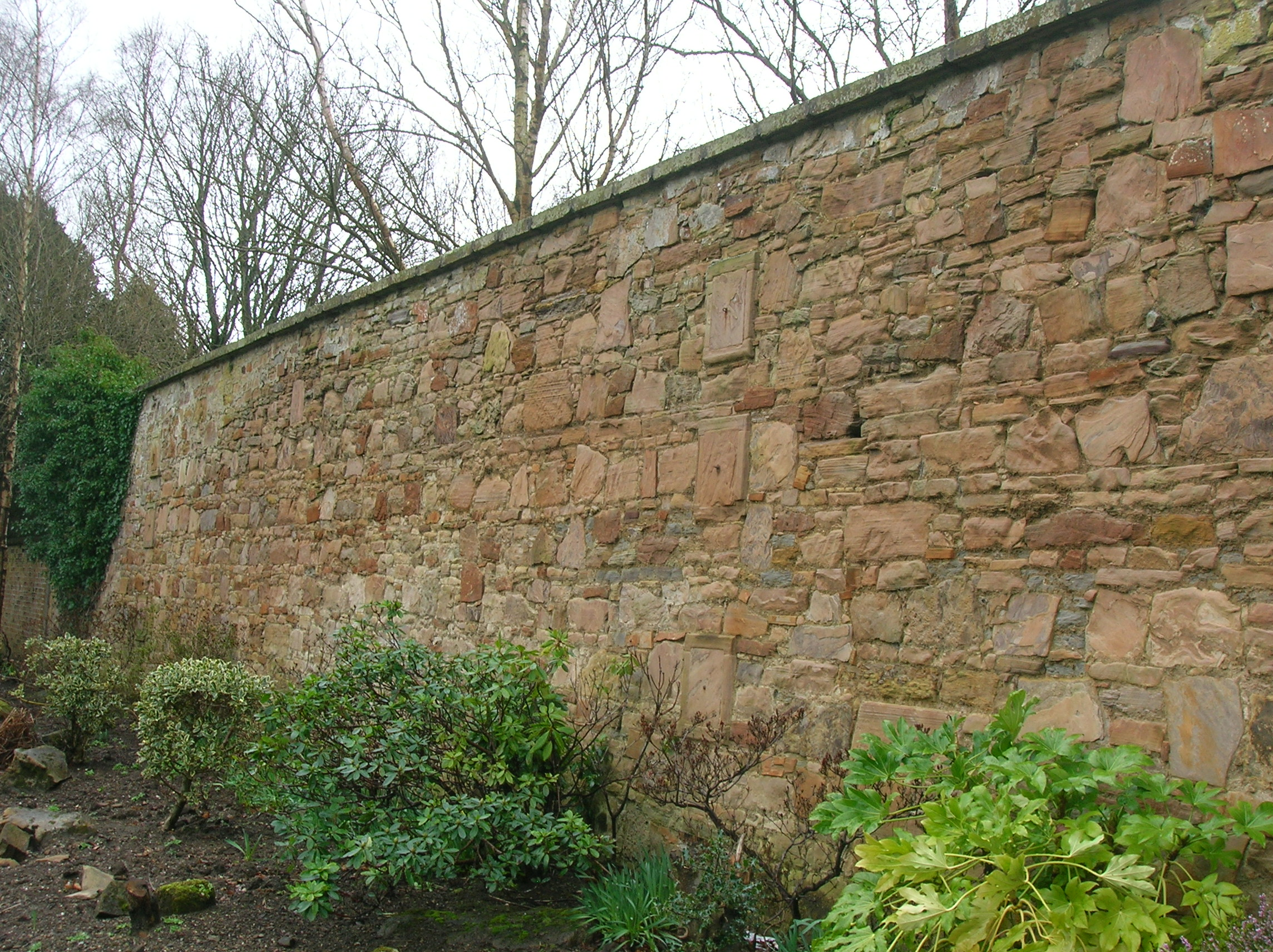fileeglinton walled garden walljpg - Garden Wall