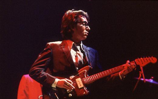 Photo Elvis Costello via Opendata BNF