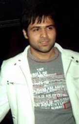 Emraan Hashmi is looking away from the camera