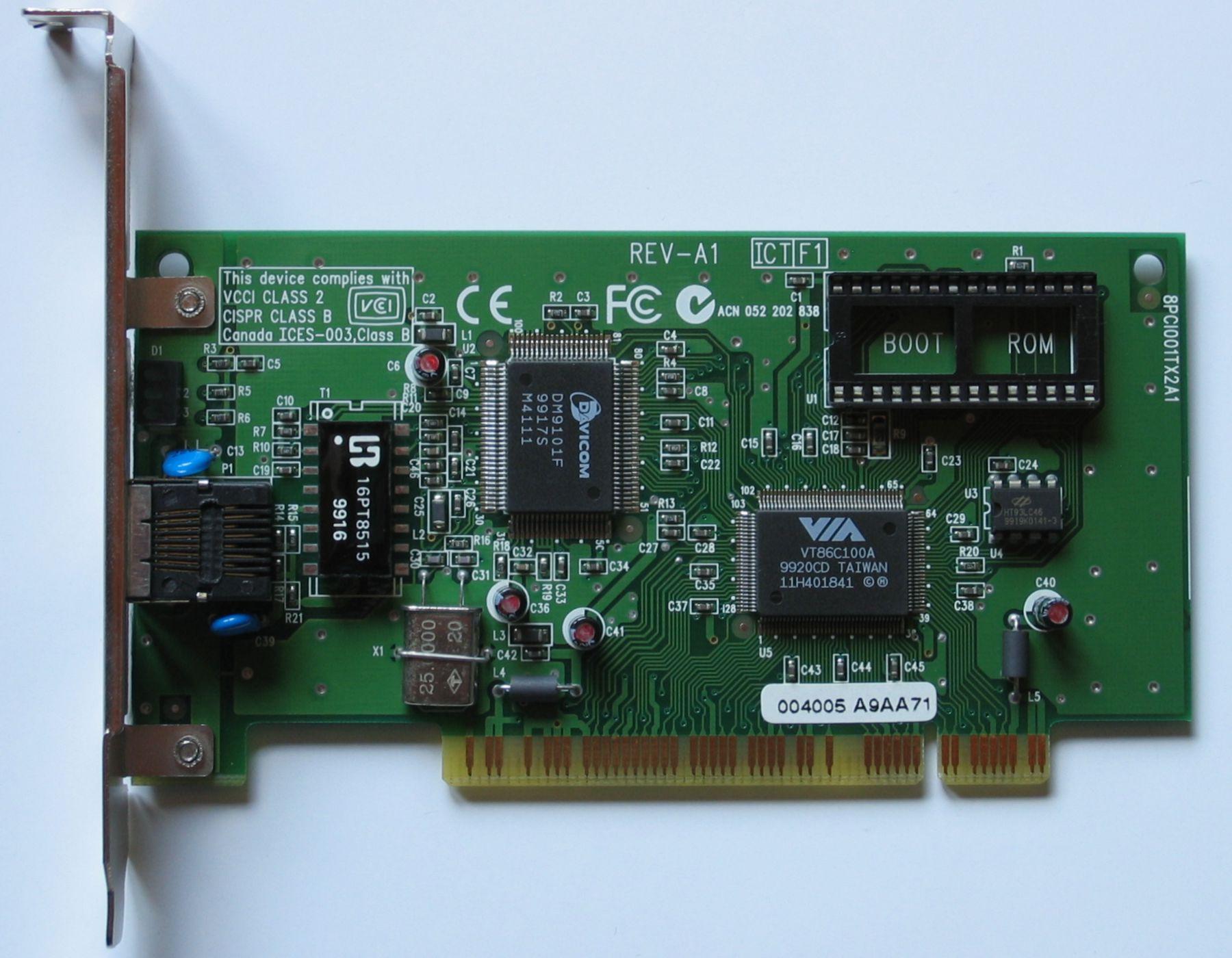 VT86C100A TÉLÉCHARGER VIA