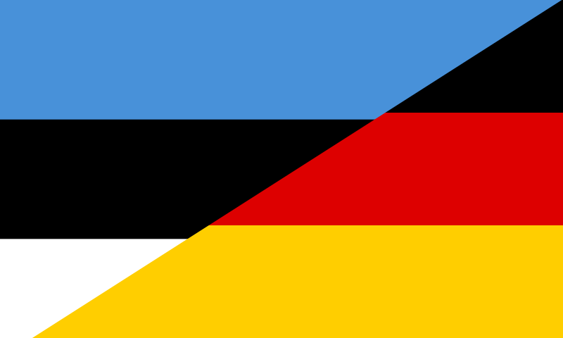 FileFlag Of Estonia And Germanypng Wikimedia Commons - Estonia flags
