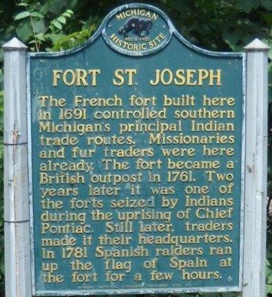 Fort St Joseph Niles Michigan Wikipedia