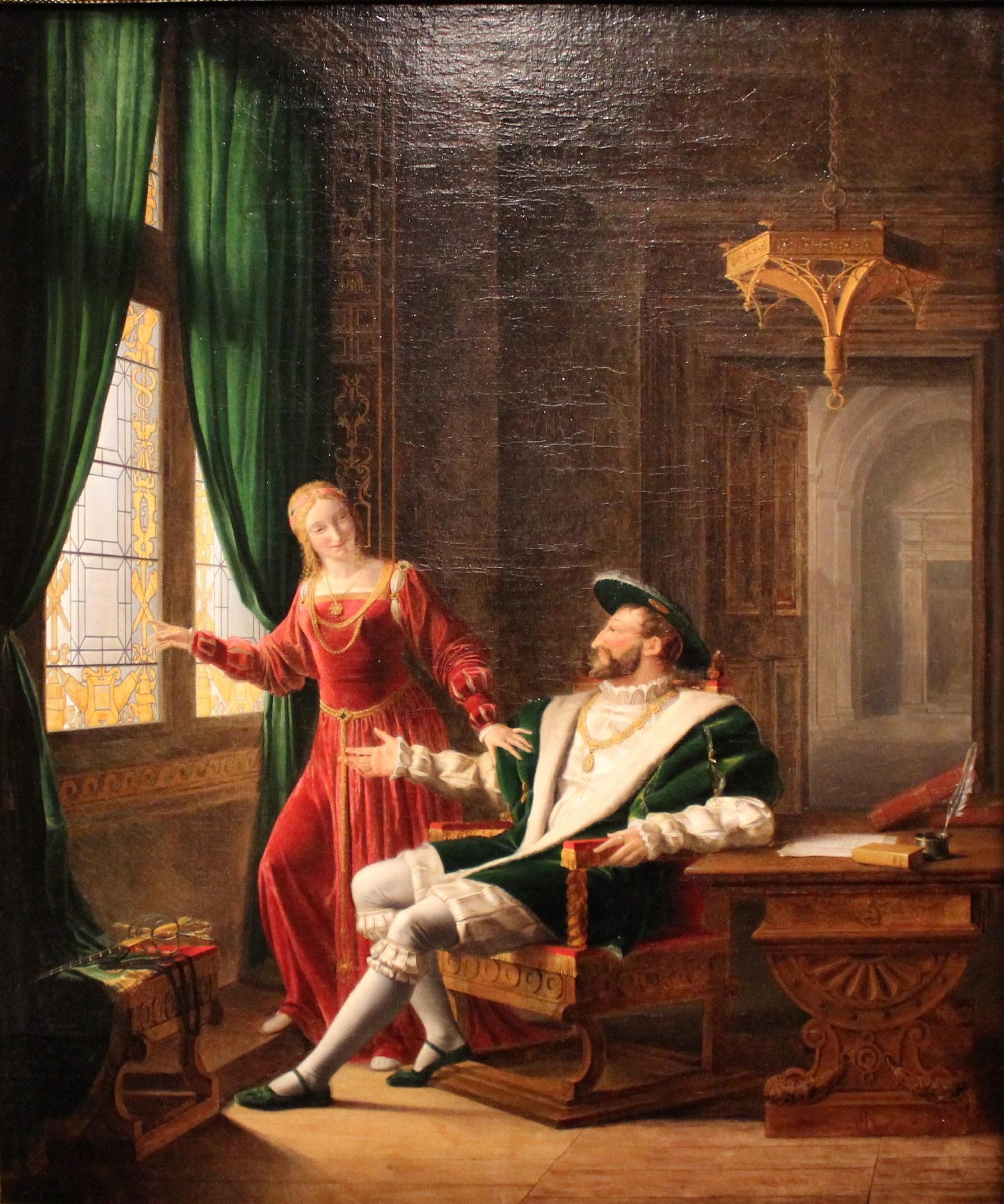 Le style troubadour en peinture | Galerie Smaragdine Execution Of Lady Jane Grey