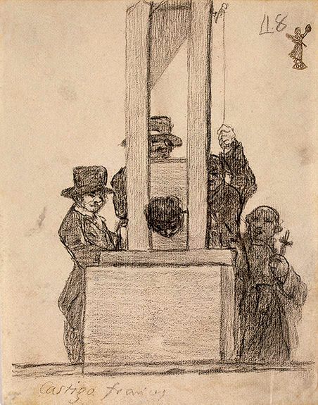 Francisco de Goya y Luciente: The French Penalty