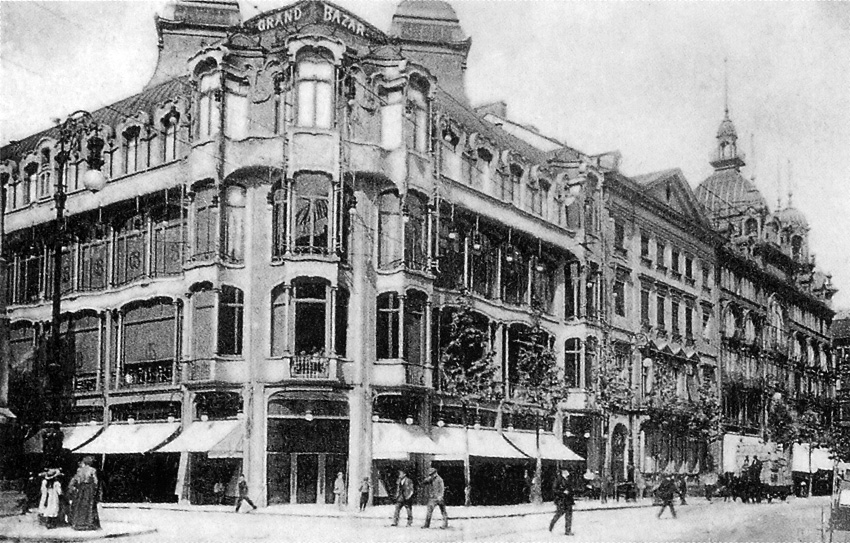 File frankfurt am main zeil grand bazar palais rothschild for Architektur 1910