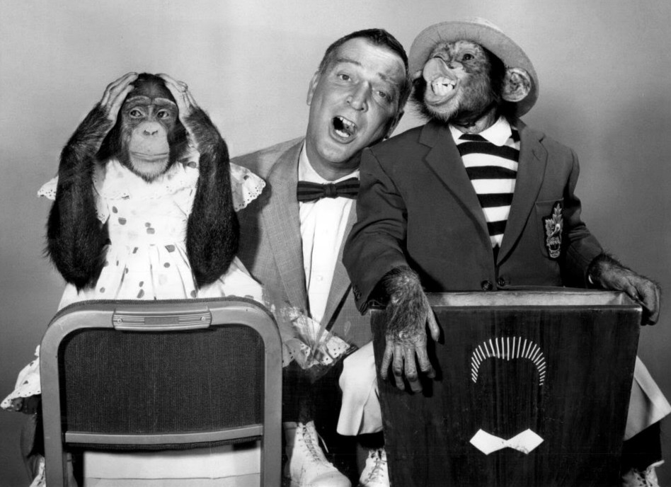 File Garry Moore Marquis Chimps 1959 Jpg Wikimedia Commons
