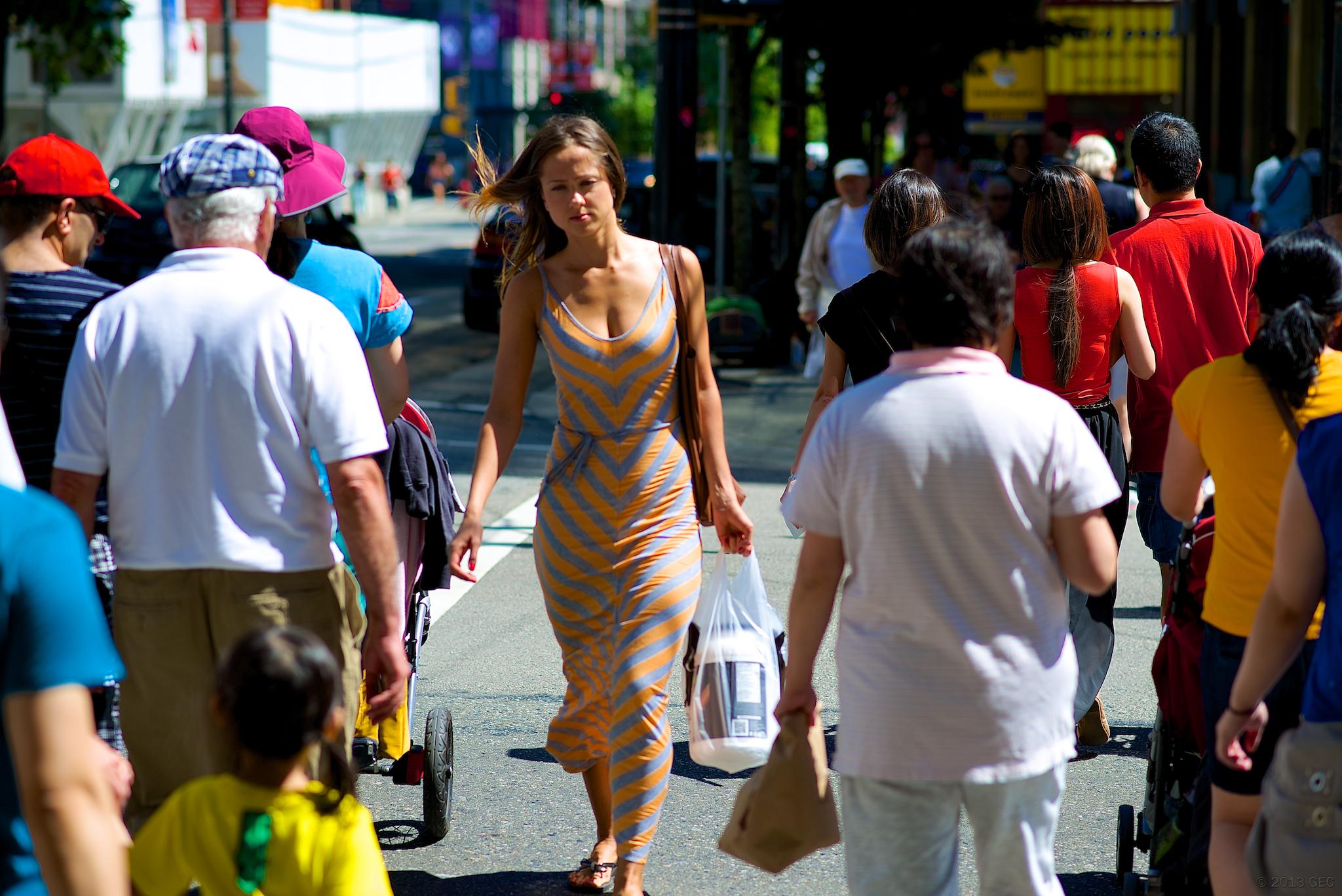 Dailymotion strip on street — photo 2