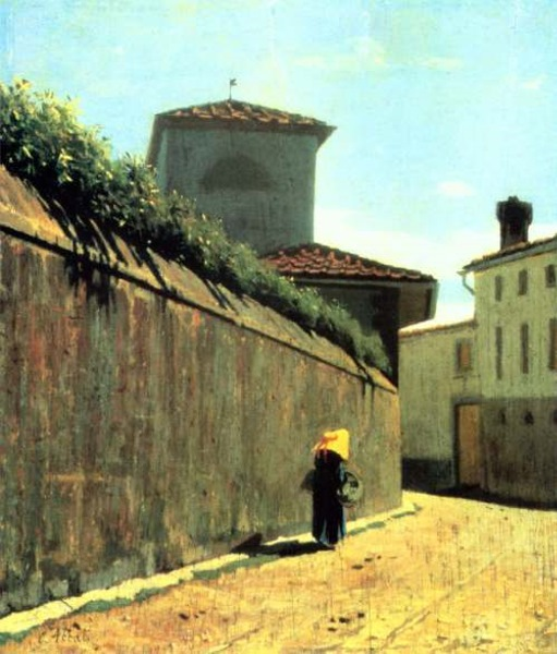 File:Giuseppe Abbati - Stradina al sole.jpg