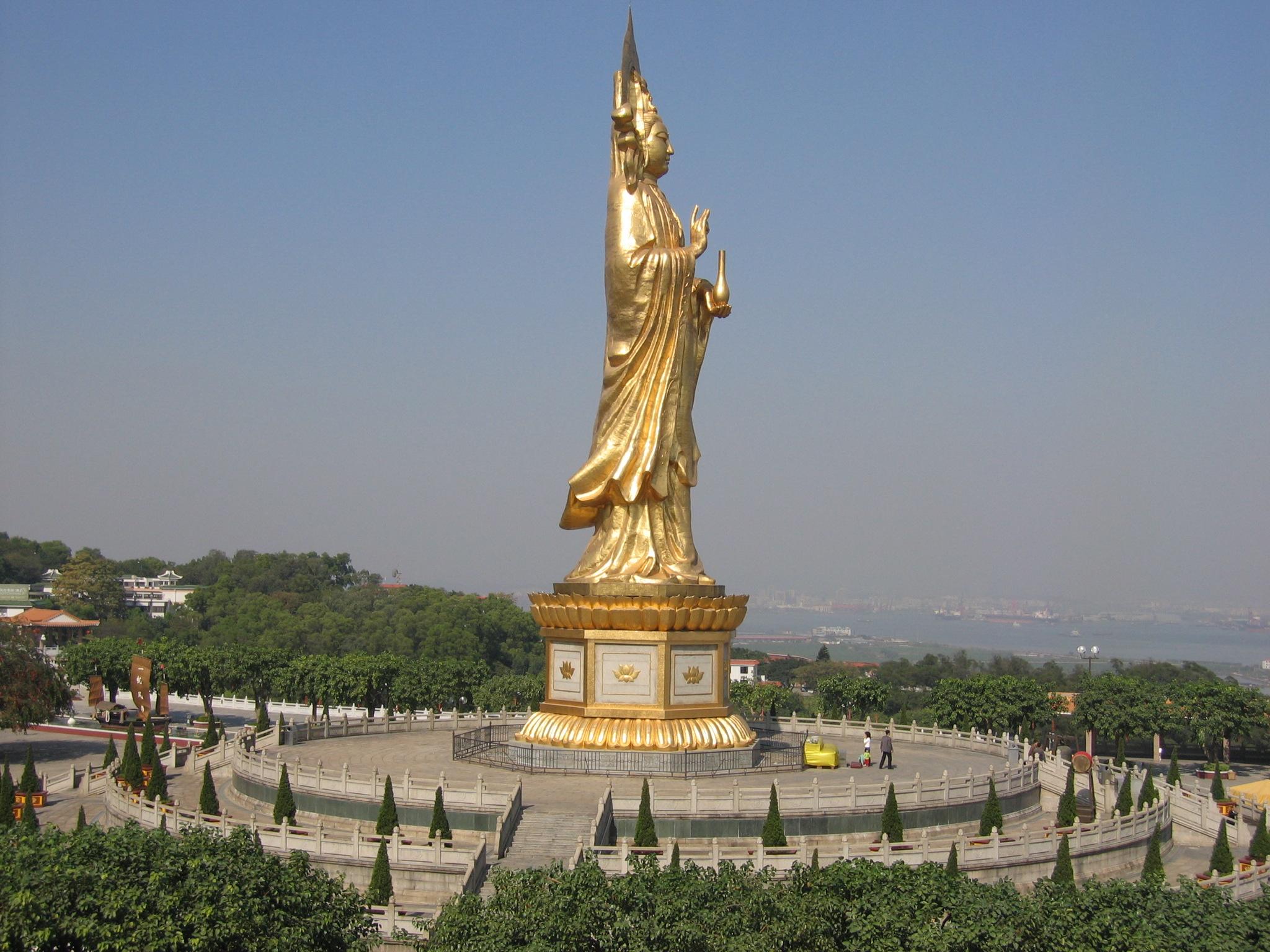 Resultado de imagen de Qianshou Qianyan Guanyin de Weishan