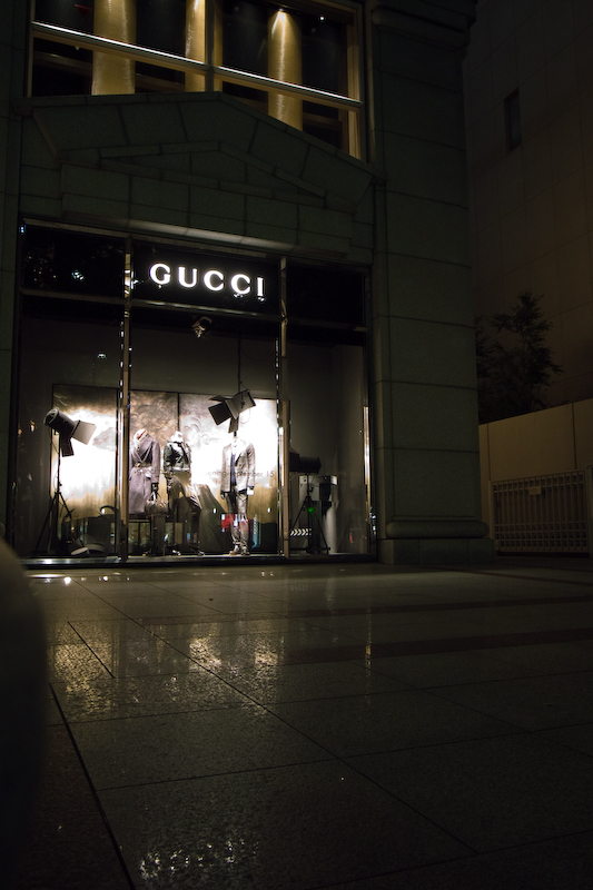 Gucci Store in Buenos Aires, Argentina.