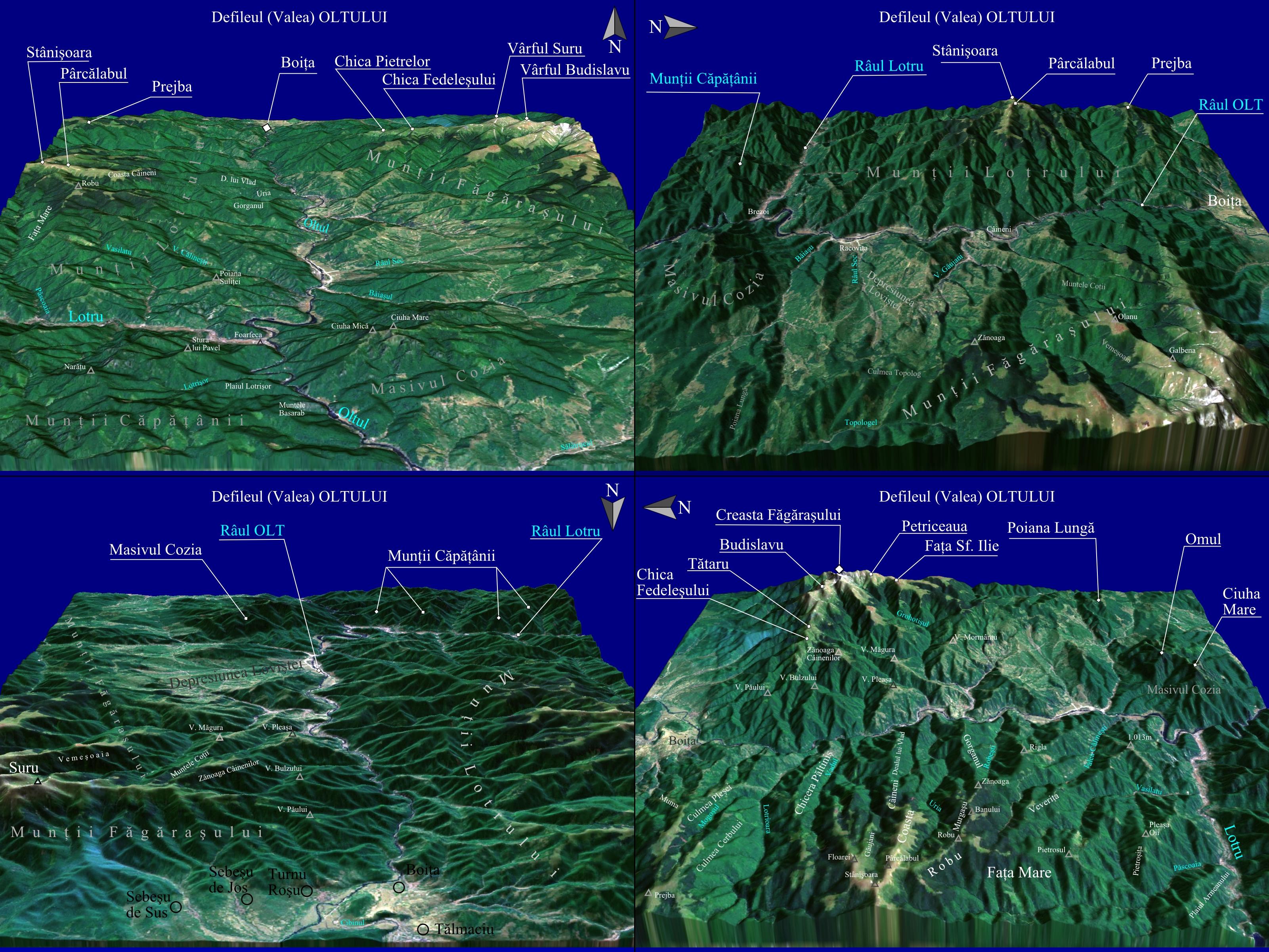File Harta Pentru Defileul Oltului Romania Jpg Wikimedia Commons