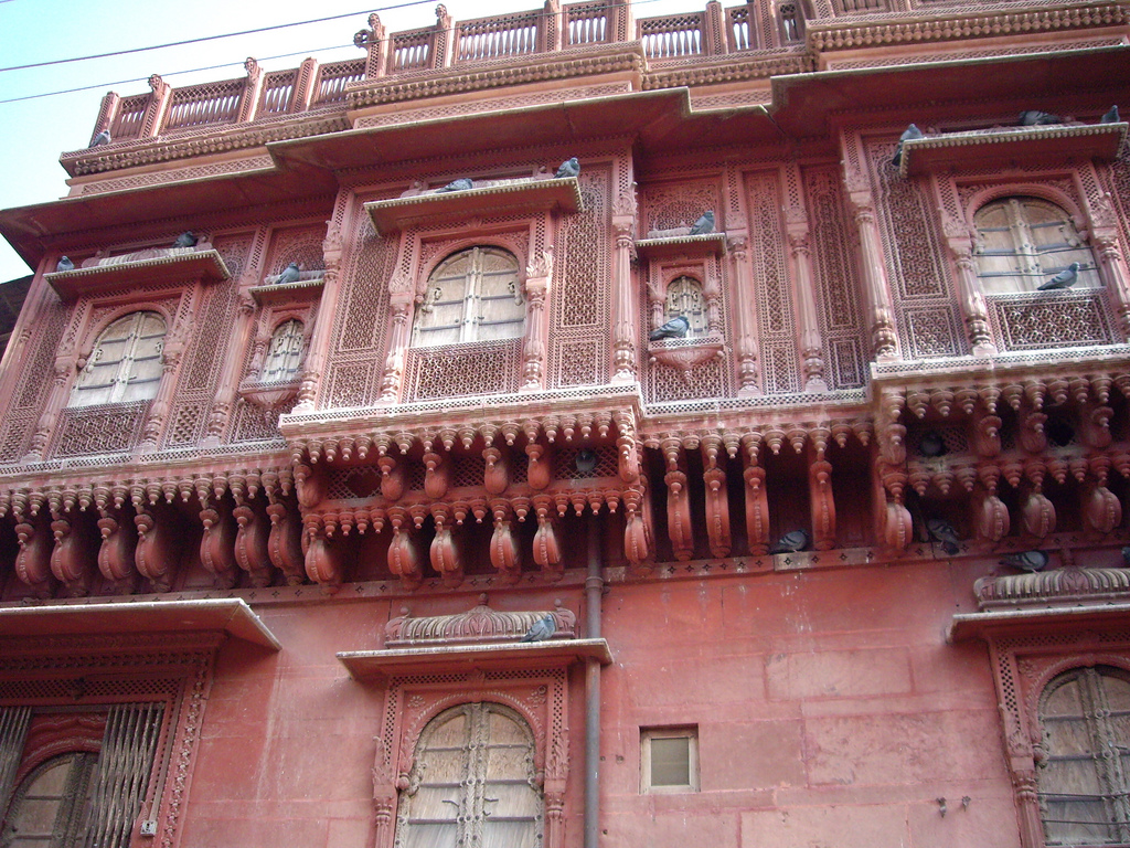 Phalodi India  city photos : Haveli in Phalodi, Rajasthan Wikipedia, the free ...