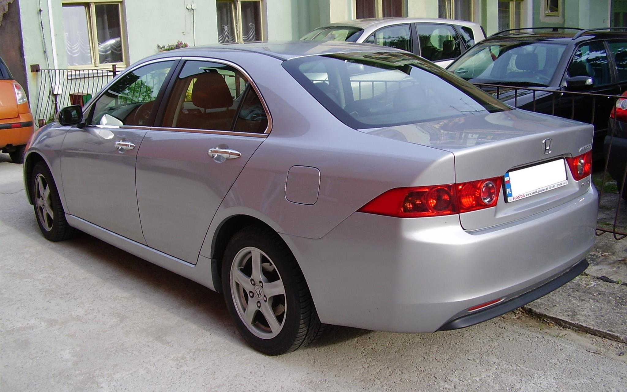 Honda Accord Lx >> File:Honda Accord Międzyzdroje2.JPG - Wikimedia Commons