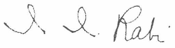 File:I. I. Rabi signature.jpg