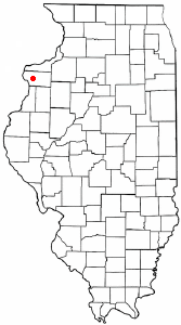 Location of Joy, Illinois